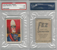 T79 Fez, Lenox, Tolstoi, Military, 1910, Gala General, Spain, PSA 1.5 Fair