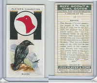 P72-68 Player, Boy Scout & Girl Guide, 1933, #17 Raven Bird
