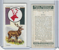 P72-68 Player, Boy Scout & Girl Guide, 1933, #20 Stag