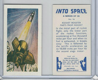 S0-0 Swettenham Tea, Into Space, 1959, #16 Rocket Booster