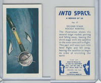 S0-0 Swettenham Tea, Into Space, 1959, #17 Second Stage Rocket