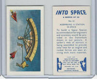 S0-0 Swettenham Tea, Into Space, 1959, #22 Assembling Station In Space