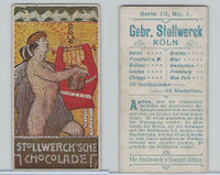 S0-0 Stollwerck Chocolate, Greek Gods, 1904, #1 Apollo