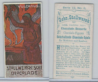 S0-0 Stollwerck Chocolate, Greek Gods, 1904, #3 Vulcanus