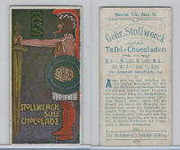S0-0 Stollwerck Chocolate, Greek Gods, 1904, #5 Mars