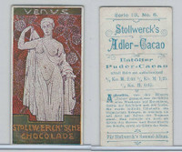 S0-0 Stollwerck Chocolate, Greek Gods, 1904, #6 Venus