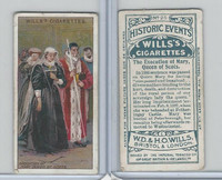 W62-86 Wills, Historic Events, 1912, #25 Execution Mary Queen of Scots