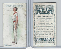 W62-96 Wills, Physical Culture, 1914, #3 Home Excercises