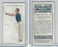 W62-96 Wills, Physical Culture, 1914, #10 Home Excercises
