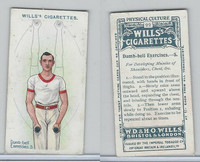 W62-96 Wills, Physical Culture, 1914, #22 Dumb Bell Excercises