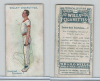 W62-96 Wills, Physical Culture, 1914, #24 Dumb Bell Excercises