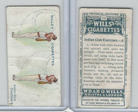 W62-96 Wills, Physical Culture, 1914, #29 Indian Club Excercises