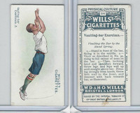 W62-96 Wills, Physical Culture, 1914, #34 Vaulting Bar Excercises