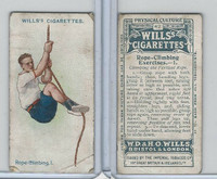 W62-96 Wills, Physical Culture, 1914, #42 Rope Climbing Excercises