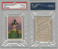 T79 Fez, Lenox, Tolstoi, Military, 1910, Frontier Guard, Italy, PSA 2.5 Good+