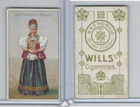 W62-46a Wills, National Costumes, 1900, Archangel, Russia