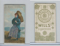 W62-46a Wills, National Costumes, 1900, Scotch Fishergirl