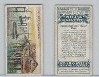 W62-95 Wills, Overseas Dominions Canada, 1914, #35 Salmon Cannery, Fraser