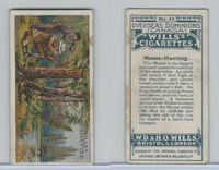 W62-95 Wills, Overseas Dominions Canada, 1914, #44 Moose Hunting