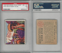 1949 Bowman, Wild West, #A-21 The Gold Rush Is On, PSA 5 EX