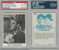 1965 Fleer, Gomer Pyle, #30 Ah Sure Hope She Didn't Get Carried, PSA 8 NMMT