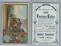 V0-0 Voelcker Kaffee Card, Artist Series, #303-5 Phil Wouwermann