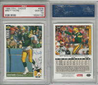 1994 Upper Deck CC Football, #309 Brett Favre, Packers, PSA 10 Gem