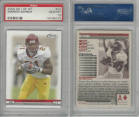 2005 SA-GE Hit Football, #20 Marion Barber, Minnesota, PSA 10 Gem