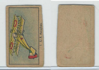 W Card, Strip Card, Military, 1920's, #1 US Aeroplane