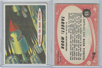 1967 Topps, Target Moon - Salmon Back, #55 Supplies For Moon Pioneers