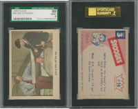 1959 Fleer, The 3 Stooges, #56 Just A Little Off The Top, SGC 88 NMMT