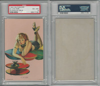W424-2d Mutoscope, Glorified Glamour Girls, 1940, A Live Wire, PSA 6 EXMT