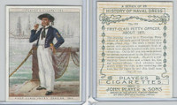 P72-107B Player, History Naval Dress - Large, 1929, #22 Petty Officer 1855