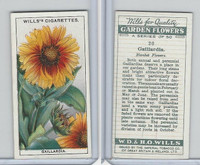 W62-139 Wills, Garden Flowers, 1933, #20 Garilardia