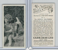 C18-40 Carreras, Dogs & Friend, 1936, #3 Smooth Fox Terrier