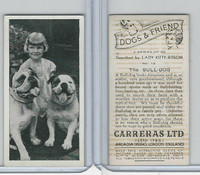 C18-40 Carreras, Dogs & Friend, 1936, #12 Bull Dog