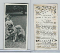 C18-40 Carreras, Dogs & Friend, 1936, #17 Chow