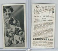 C18-40 Carreras, Dogs & Friend, 1936, #22 Cocker Spaniel Puppies