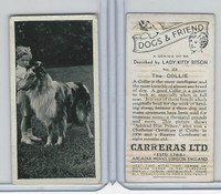 C18-40 Carreras, Dogs & Friend, 1936, #28 Collie