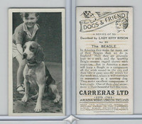 C18-40 Carreras, Dogs & Friend, 1936, #35 Beagle