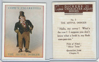 C132-72 Cope, Dickens Character, 1939, #3 The Artful Dodger