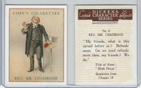 C132-72 Cope, Dickens Character, 1939, #6 Rev. Mr. Chadband