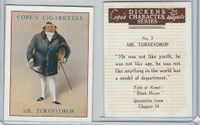 C132-72 Cope, Dickens Character, 1939, #7 Mr. Turveydrop