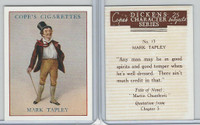 C132-72 Cope, Dickens Character, 1939, #13 Mark Tapley