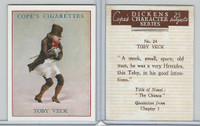 C132-72 Cope, Dickens Character, 1939, #24 Toby Veck