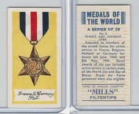 A46-32 Amalgamated, Medals Of World, 1959, #2 France & Germany Star