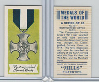 A46-32 Amalgamated, Medals Of World, 1959, #10 Distinguished Service Cross