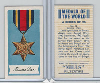 A46-32 Amalgamated, Medals Of World, 1959, #12 Burma Star