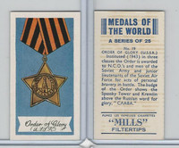 A46-32 Amalgamated, Medals Of World, 1959, #19 Order of Glory, Russia