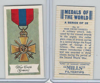 A46-32 Amalgamated, Medals Of World, 1959, #23 War Cross, Greece